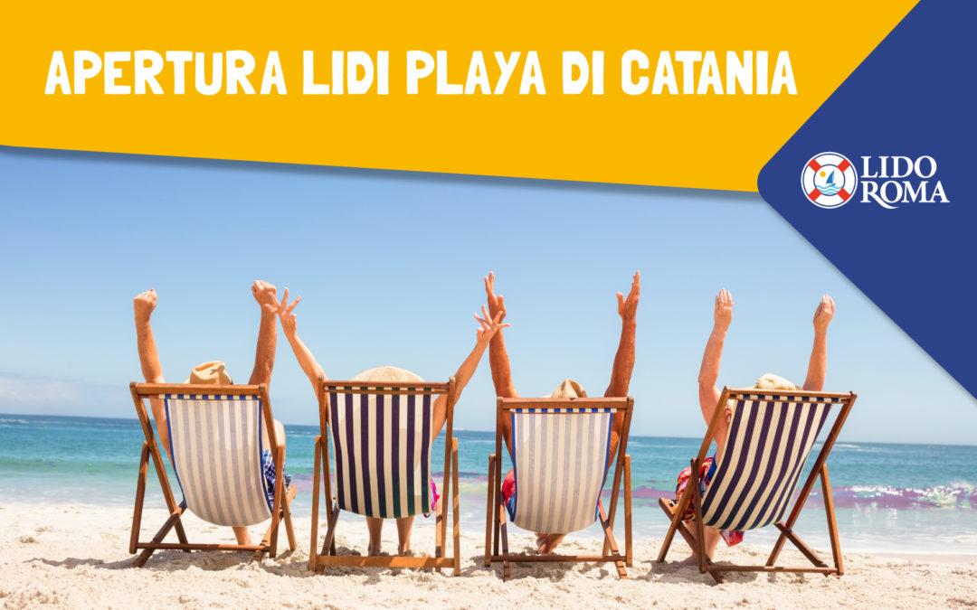 Quando aprono i lidi alla Playa di Catania?